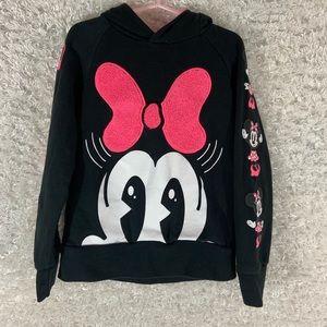 Minnie Mouse hoodie sweatshirt size 5/6